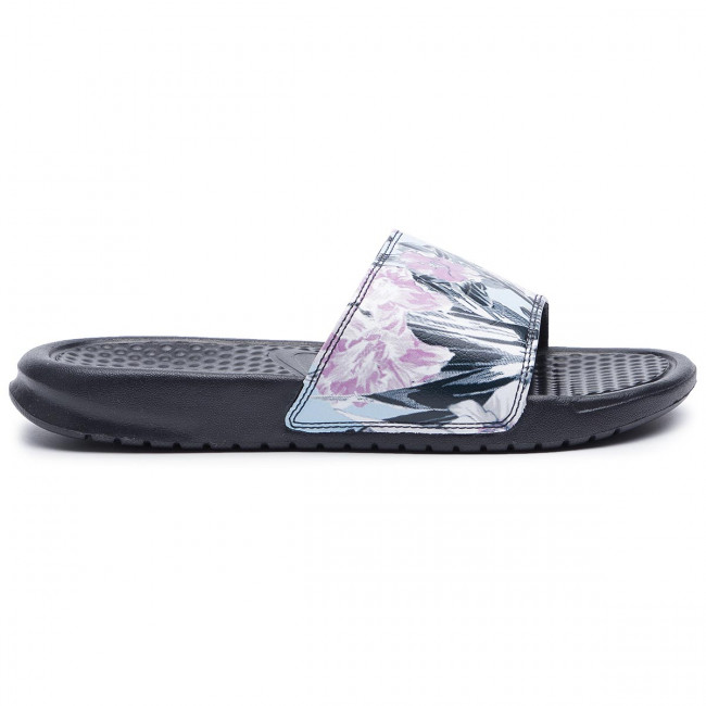 the latest 1f991 8421b Slides NIKE - Benassi Jdi Print 618919 026 Anthracite Topaz Mist