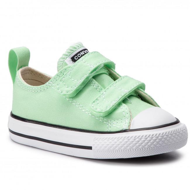 5d10af8ba0b0 Sneakers CONVERSE - Ctas 2V Ox Lt. Aph 764467C Lt. Aphid Green ...