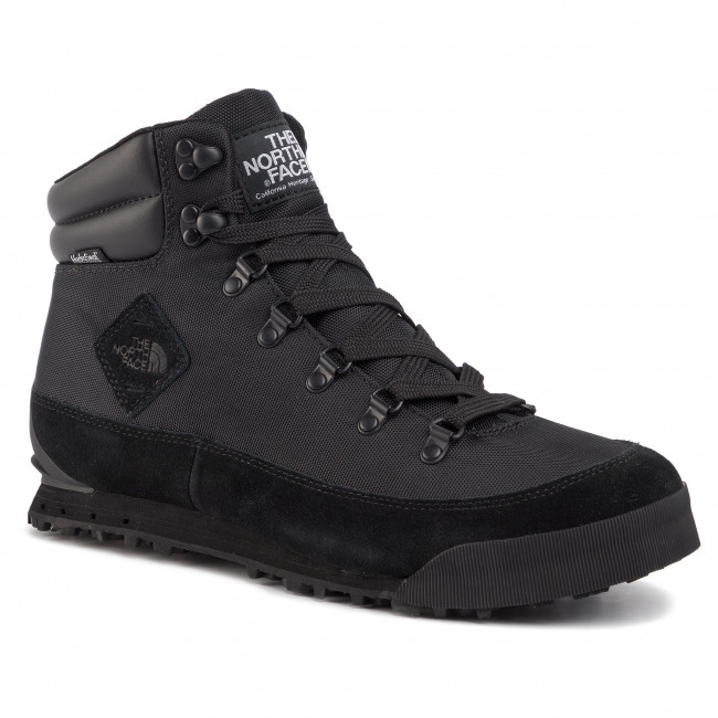 Trekker Boots The North Face Back To Berkeley Nl Nf00ckk4kx7 Tnf Black Tnf Black Trekker Boots High Boots And Others Men S Shoes Efootwear Eu