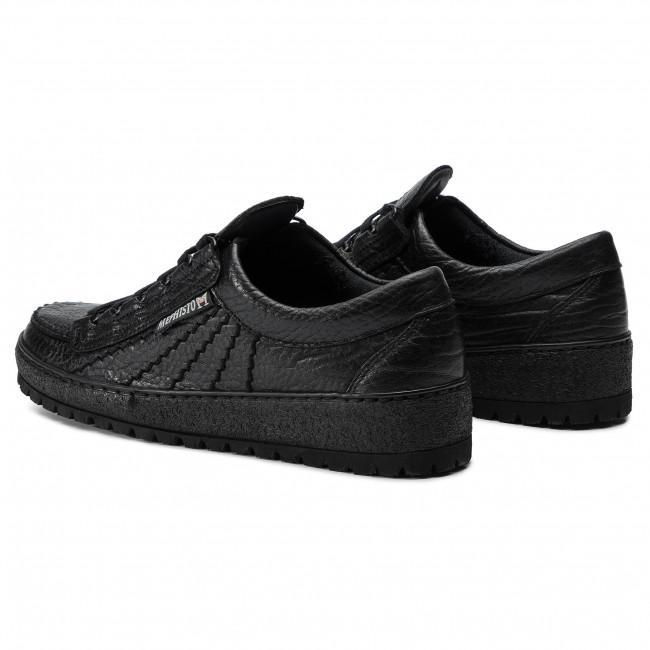 Rainbow Mephisto Black R823 Low Sneakers Shoes hsrdtQC