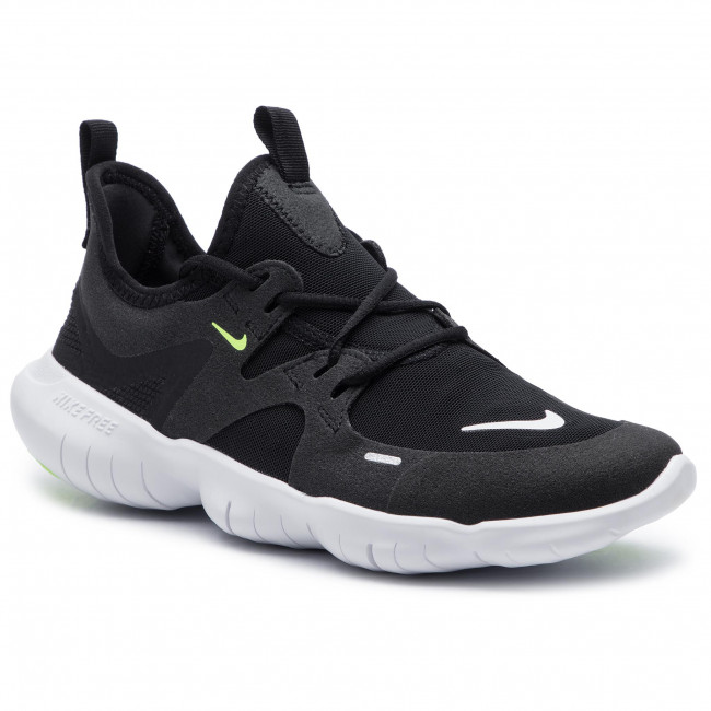 176149ea43dc Shoes NIKE - Free Rn 5.0 (GS) AR4143 001 Black White Anthracite Volt ...