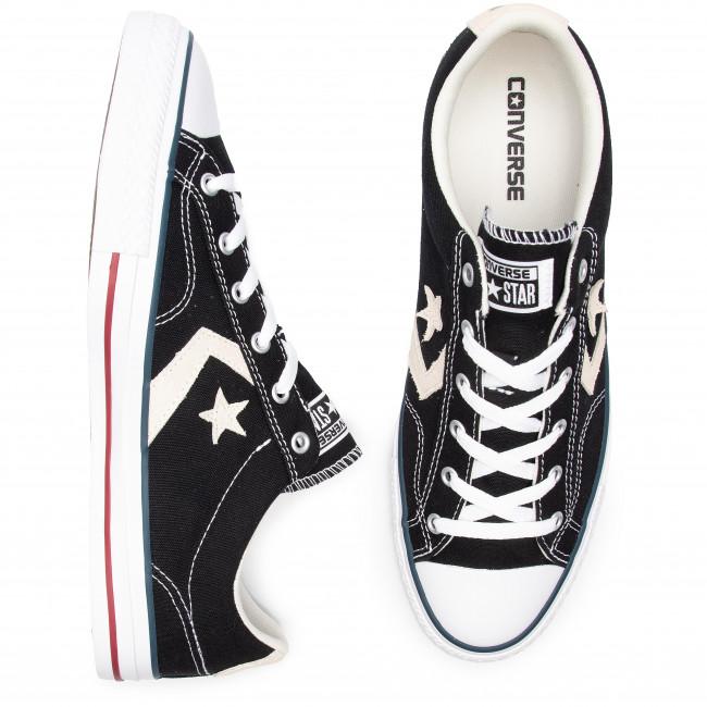 Sneakers CONVERSE Star Player Ox 144145C BlackMilk