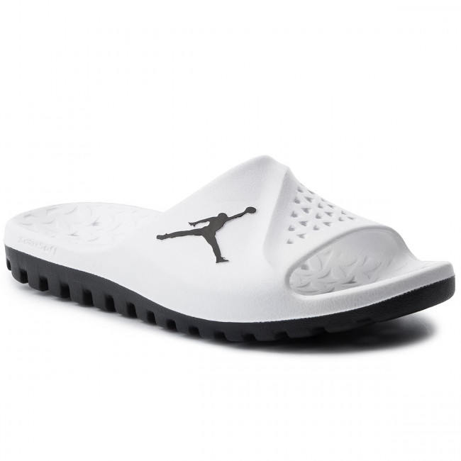 ddea5139999600 Slides NIKE. Jordan Super.Fly tm Sld 2 Grpc 881572 110 White Black Pure  Platinum
