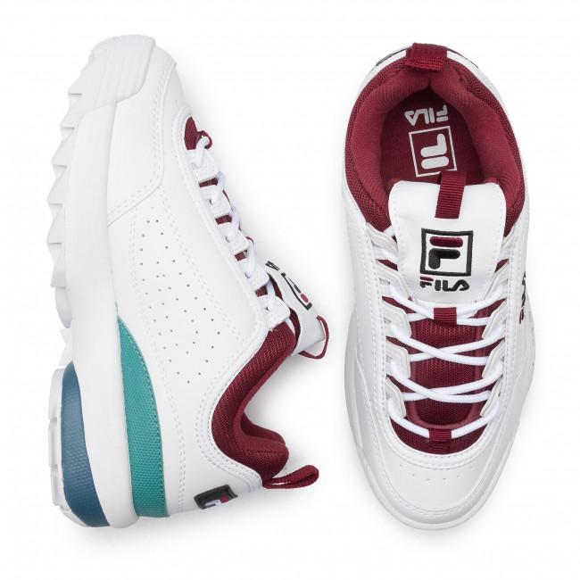 Sneakers FILA Disruptor Cb Low Wmn 1010604.02H WhiteRhubarb