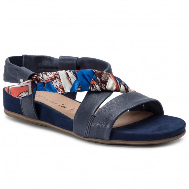 Sandals 32 853 1 28178 Comb Casual Tamaris Denim V80nmwn CxBrodeW