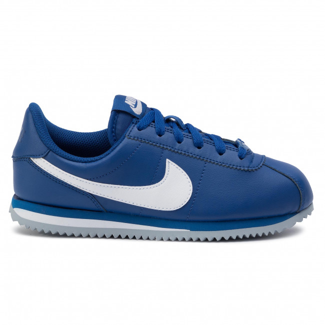 Variante parilla empeorar  Shoes NIKE - Cortez Basic Sl (GS) 904764 402 Indigo Force/White - Sneakers  - Low shoes - Women's shoes | efootwear.eu