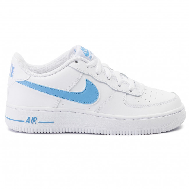 Shoes NIKE - Air Force 1-3 (Gs) AV6252 102 White/University Blue - Laced  shoes - Low shoes - Girl - Kids' shoes | efootwear.eu