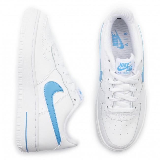Shoes NIKE Air Force 1 3 (Gs) AV6252 102 WhiteUniversity Blue