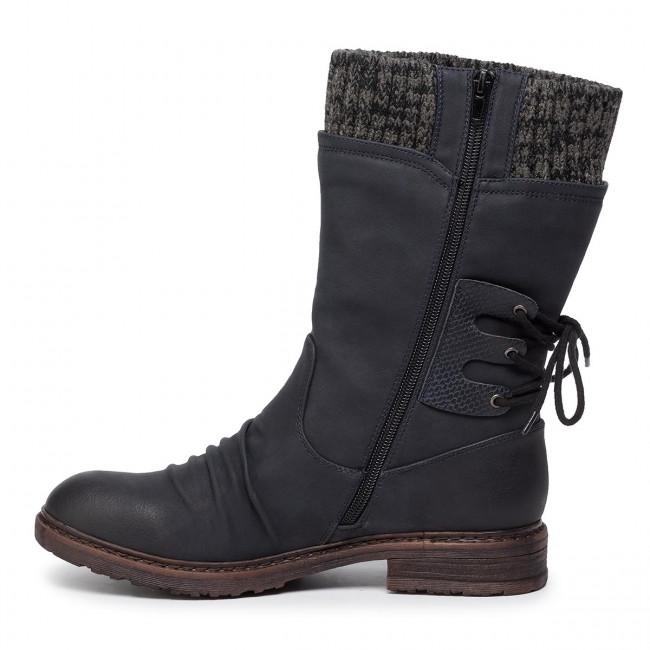 94750 14 Ladies Blue 'Tex' boots