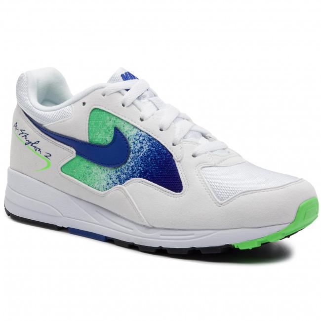 big sale 6355f bca1a Shoes NIKE. Air Skylon II AO1551 107 White Hyper Royal Green Strike
