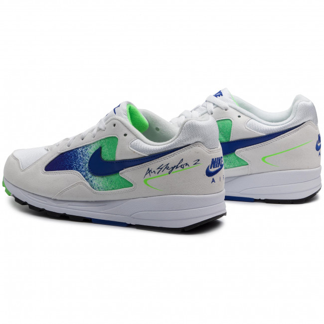 online retailer f80fa 01df6 Shoes NIKE - Air Skylon II AO1551 107 White Hyper Royal Green Strike