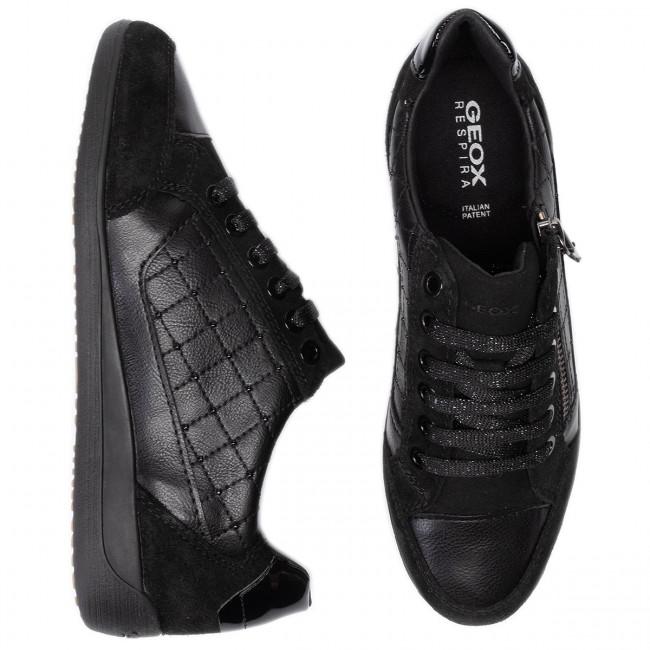 Sneakers GEOX D Myria A D6468A 0BC22 C9999 Black