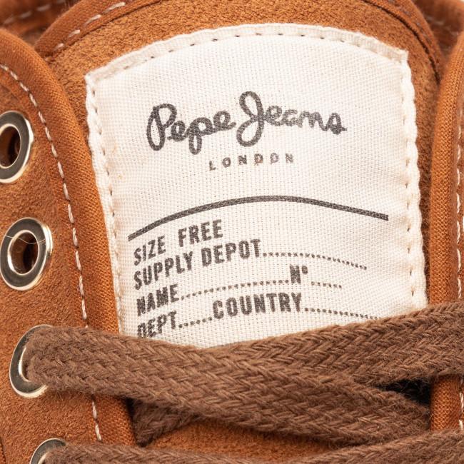 8ab8fa08e1933 Sneakers PEPE JEANS - PLS30915 Cognac 879 - Sneakers - Low shoes - Women's  shoes - efootwear.eu