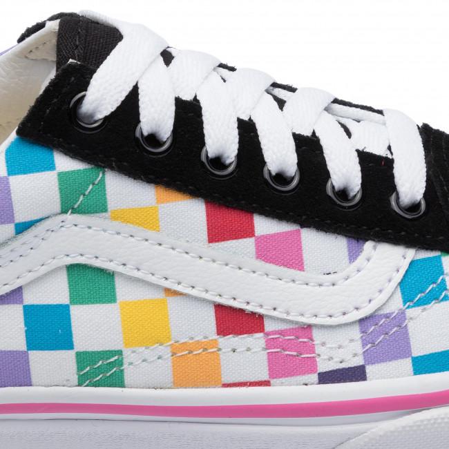 Plimsolls VANS Old Skool VN0A4BUUU091 (Checkerboard) RainbowTr