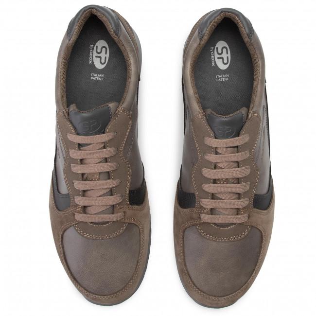 Sneakers GEOX U Wilmer A U943XA 0BCME C1135 Dove GreyDk Grey