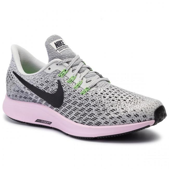 732270504 Shoes NIKE - Air Zoom Pegasus 35 942855 011 Vast Grey/Black/Pink ...