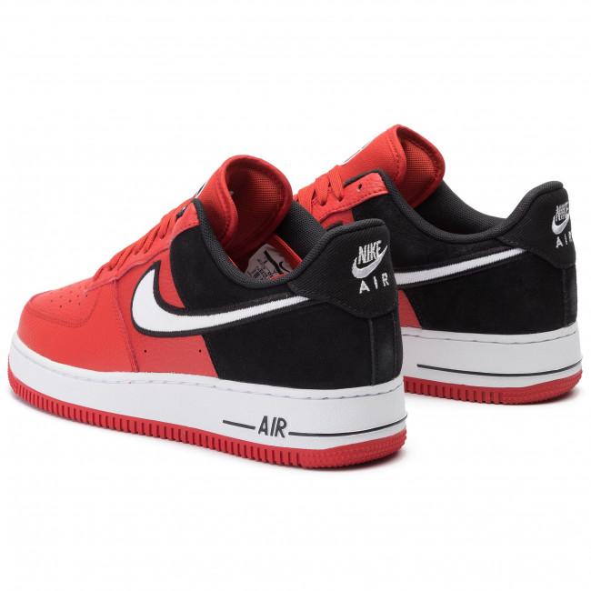 Shoes NIKE Air Force 1 '07 LVB 1 AO2439 600 Mystic RedWhiteBlack