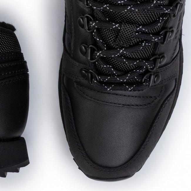 Shoes Reebok Cl Lthr Mid Ripple Mu FU9129 BlackBlack