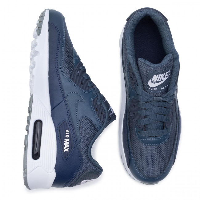 Shoes NIKE Air Max 90 Mesh (Gs) 833418 410 Monsoon BlueMonsoon Blue