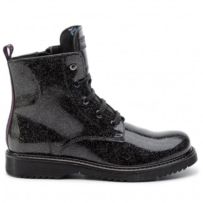 Lace-Up Bootie T4A5-30446-0713 D Black