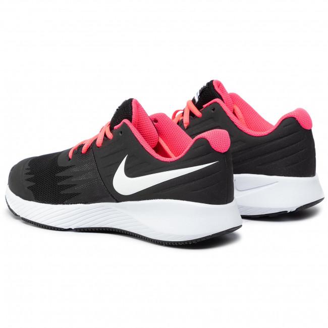 nike star runner black pink