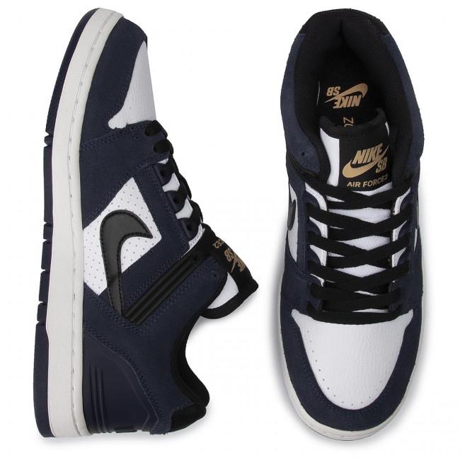 Schuhe NIKE Sb Air Force II Lowa AO0300 400 ObsidianBlackWhite