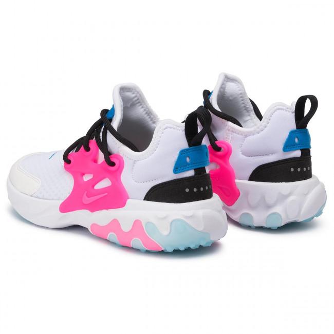 Shoes NIKE - React Presto (GS) BQ4002 101 White/Hyper Pink/Photo Blue