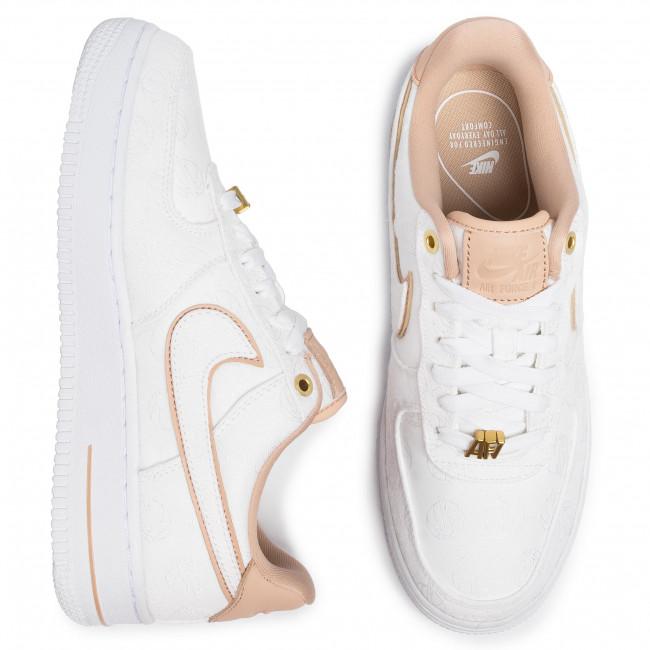 Shoes NIKE Air Force 1 '07 Lx 898889 102 WhiteBio BeigeWhite