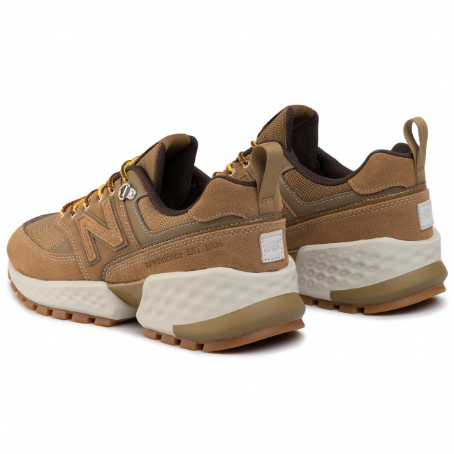 traqueteo carrera Hábil  Sneakers NEW BALANCE - MS574ARF Brown - Sneakers - Low shoes - Men's shoes  | efootwear.eu