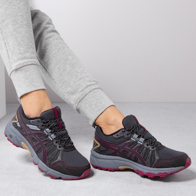 Shoes ASICS Gel Venture 7 1012A476 Graphite GreyDried Berry 023