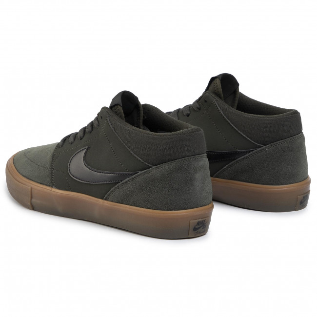 templo Niño Barra oblicua  Shoes NIKE - Sb Portmore II Solar Mid 923198 300 Sequoia/Black/Gum Med  Brown - Sneakers - Low shoes - Men's shoes | efootwear.eu