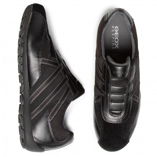 Sneakers GEOX U Ravex D U023FD 0BC14 C9999 Black