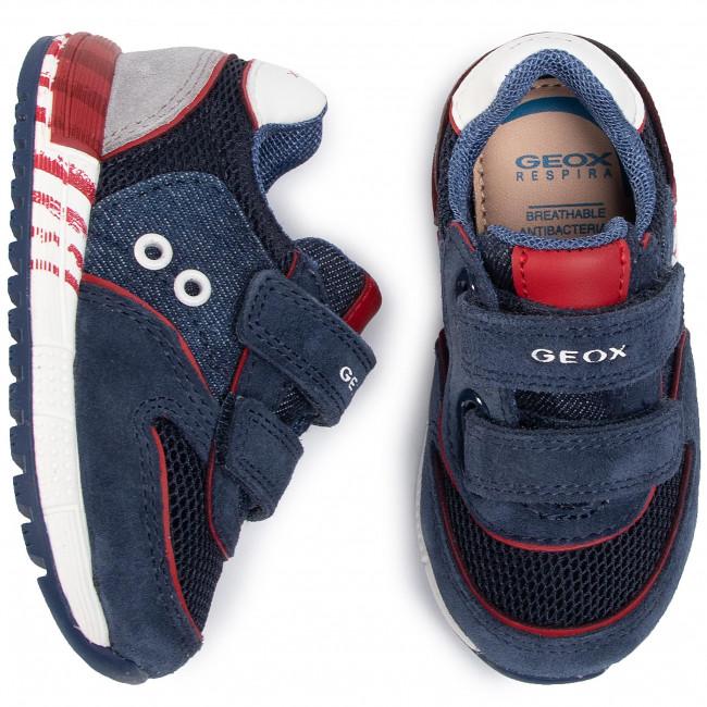 Geox Boys' Geox Pavel 21 Sneaker J9215A Little Kid