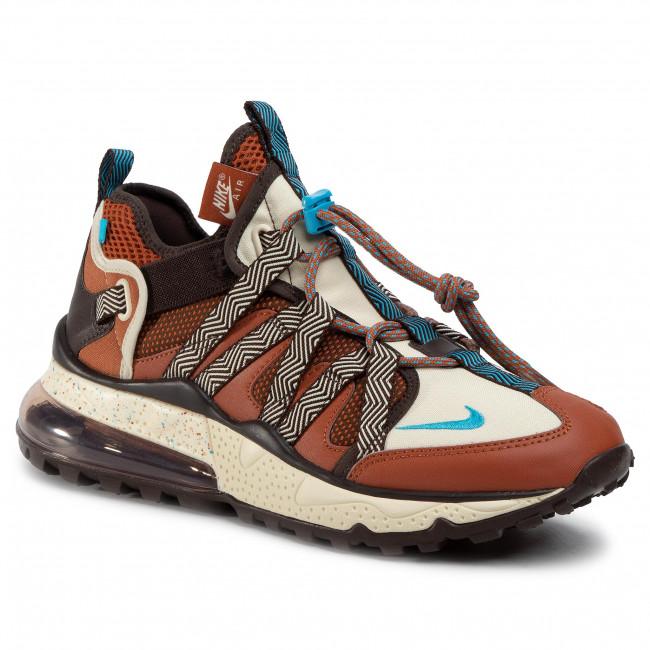 Footwear NIKE Nike Air Max 270 Bowfin AJ7200 202 Dark RussetLt Current Blue