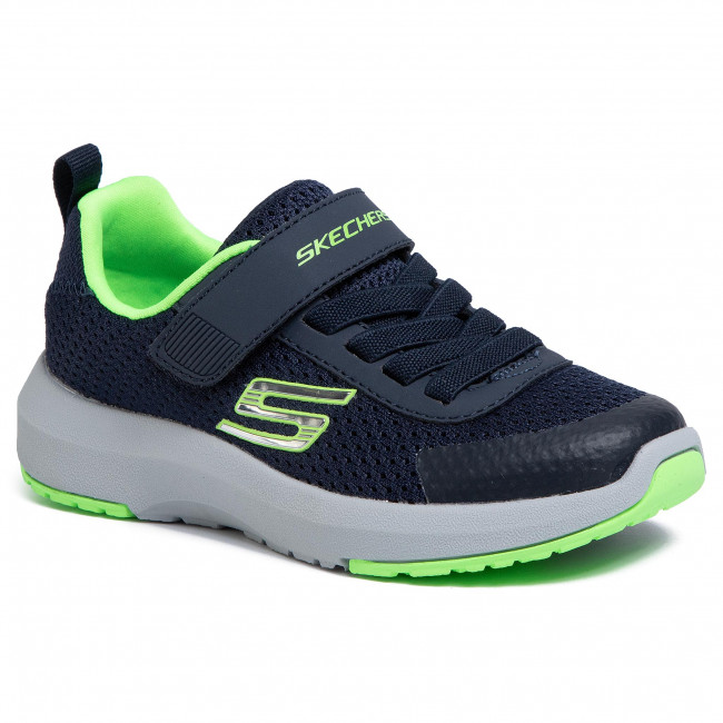 Shoes SKECHERS Dynamic Tread 98151LNVLM NavyLime QN1Ia