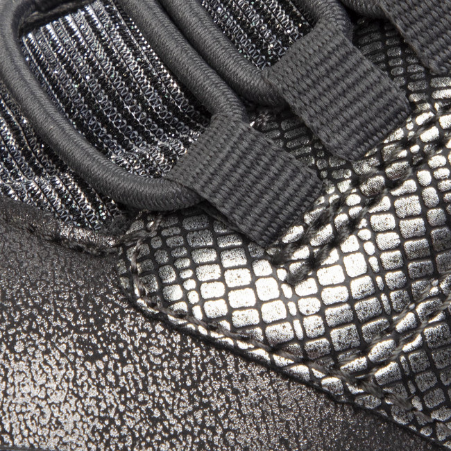 Sneakers GEOX J Hoshiko G. B J844SB 0HIPV C1469 D Dk SilverSilver