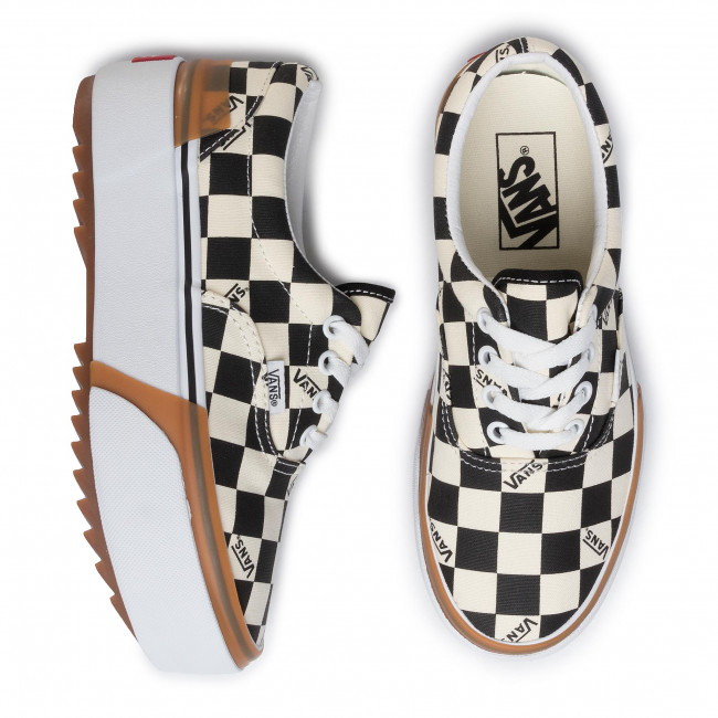 Plimsolls VANS Era Stacked VN0A4BTOVLV1 (Checkerboard)MultiTrue