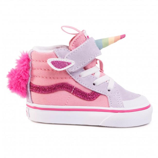 Sneakers VANS - Unicorn Sk8-Hi Re VN0A4TZQWLI1 (Unicorn)Pnkicing/Lvndrbl