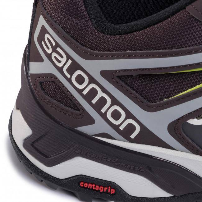 Trekker Boots SALOMON X Ultra 3 408143 27 M0 Burnt Olive vKnbR