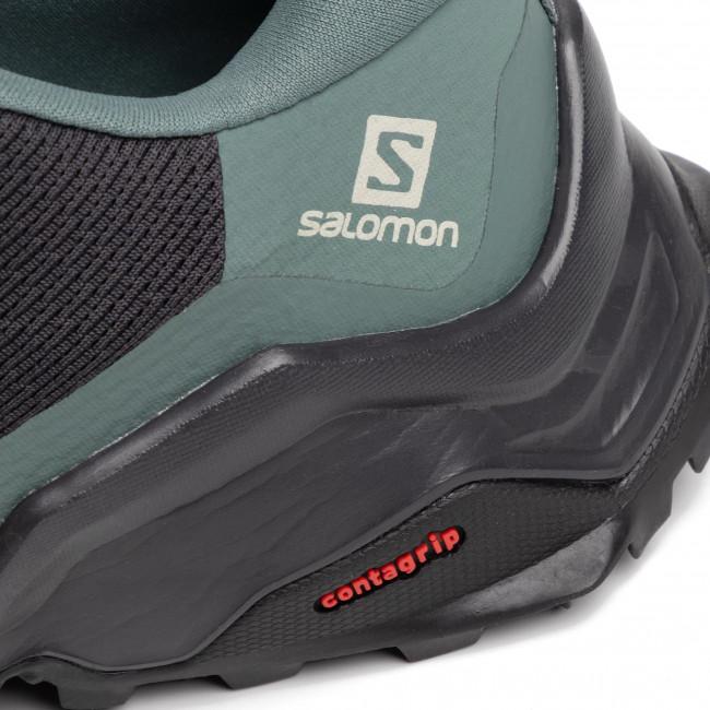 Salomon Eskape GTX GreyBlue Hiking Shoes,salomon official
