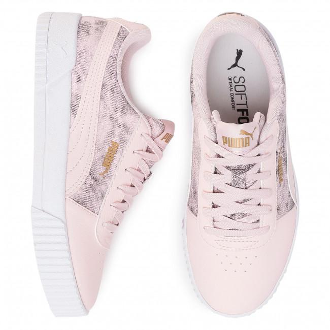 Sneakers PUMA Carina Tie Dye 371117 01 Rosewater