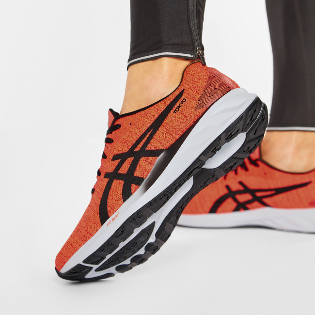 Footwear ASICS - Roadblast Tokyo 1011B071 Sunrise Red/Black 600