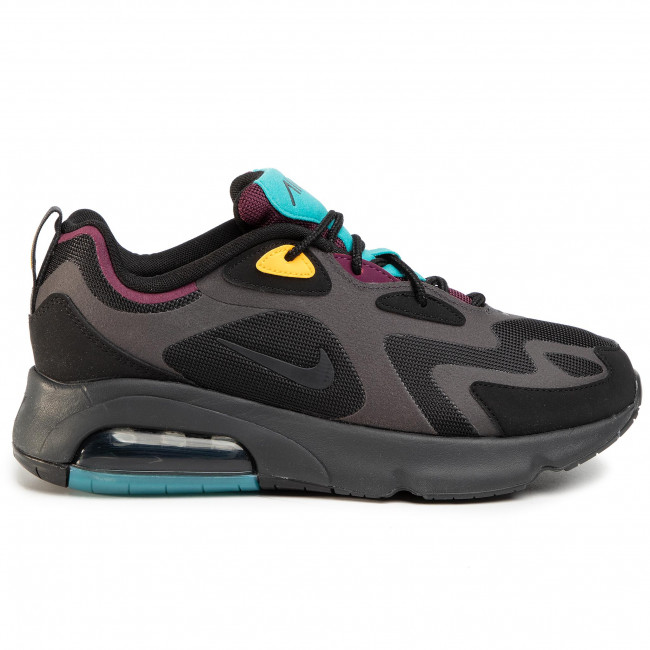 Shop Nike Air Max 200 BlackAnthracite Bordeaux AQ2568 001