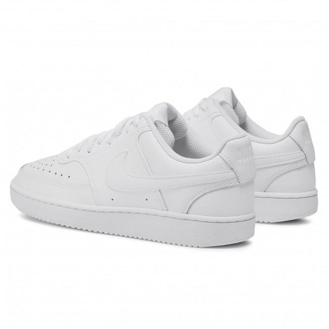 Nike WMNS Court Vision Low Damen Sneaker weiß rot CD5434 101