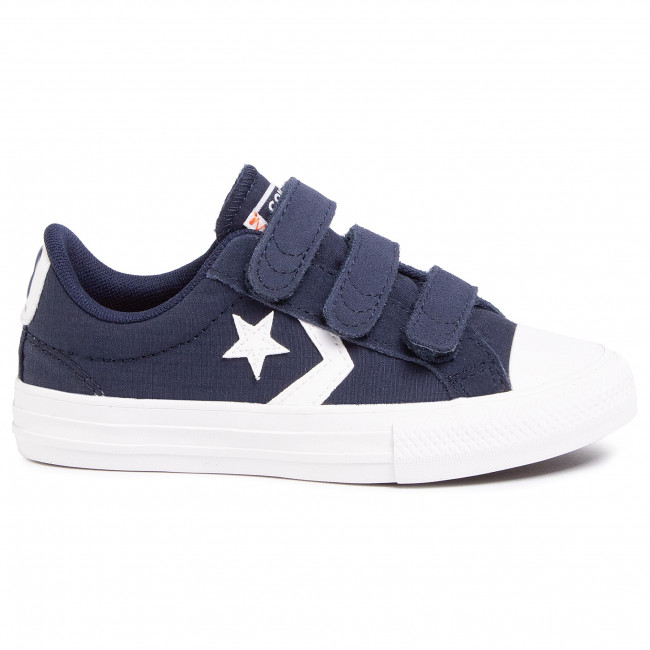 Sneakers CONVERSE Star Player 3V Ox 667547C ObsidianVintage White