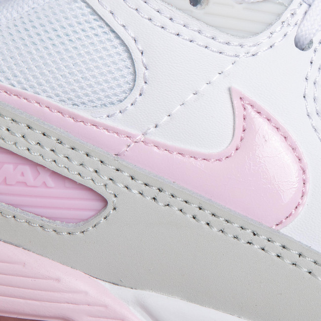 Shoes Nike Nike Air Max 90 Cz0371 100 White Pink Foam Total Orange Sneakers Low Shoes Women S Shoes Efootwear Eu
