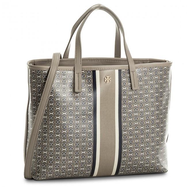 8cd6697dacb2 Handbag TORY BURCH - Gemini Link Small Tote 43896 French Gray 048 ...
