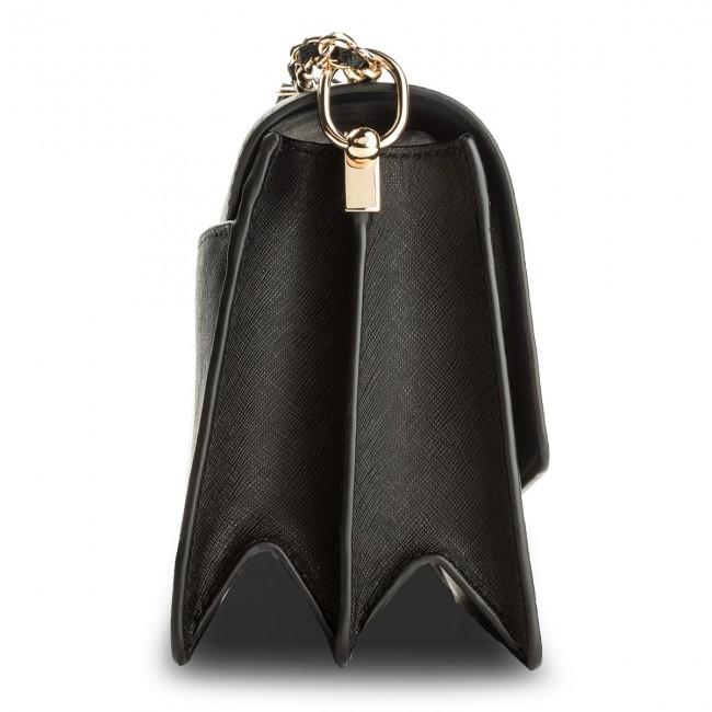 0b85530c2e4 Handbag TORY BURCH - Robinson Convertible Shoulder Bag 46333 Black/Royal  Navy 018