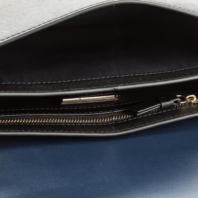 5ea3ee79d5f Handbag TORY BURCH - Robinson Convertible Shoulder Bag 46333 Black/Royal  Navy 018 - Classic - Handbags - www.efootwear.eu
