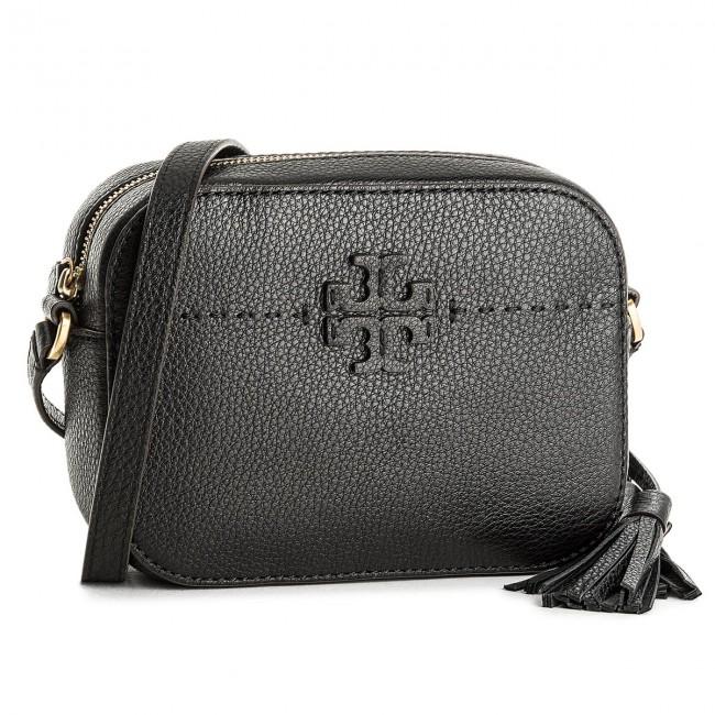 c92cfa73cf6b Handbag TORY BURCH - Mcgraw Camera Bag 45135 Black 001 - Cross Body ...